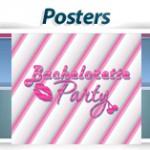 bridal poster wedding party bachelorette poster